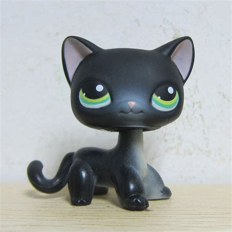 littlest pet shop cat collection short hair cats youtube littlest pet shop collection lps 336 black short hair