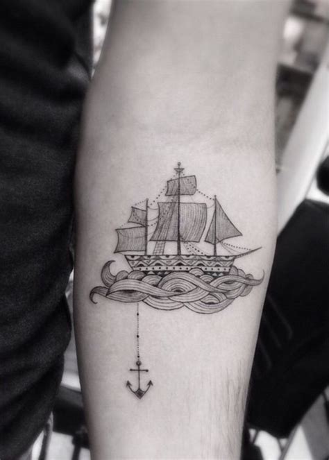 boat anchor tattoos 20 best ideas about boat tattoos on sailboat