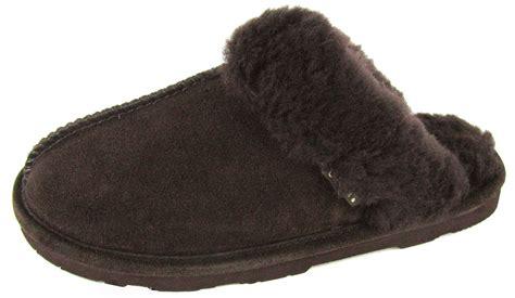 bearpaw loki 2 slippers bearpaw loki ii s slippers shoes sheepskin ebay