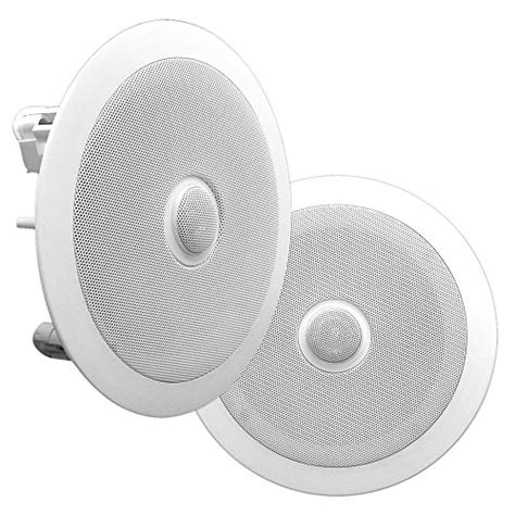 best ceiling mount speakers 13 best in ceiling speakers of 2017 enhanced reviews