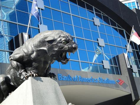 bank of america stadium carolina panthers bank of america stadium carolina panthers stadium journey