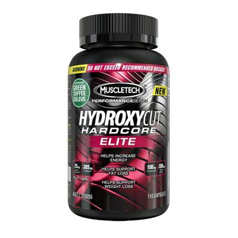 muscletech hydroxycut elite thermogenic burner 110 capsules sportitude