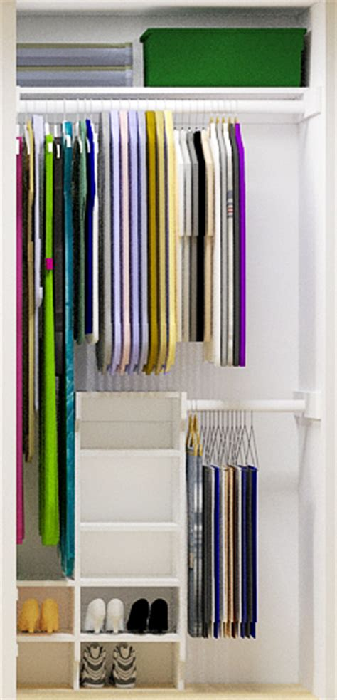 How To Make More Room In Your Closet by Small Closet Organizer Your Can Build For Less Than 50