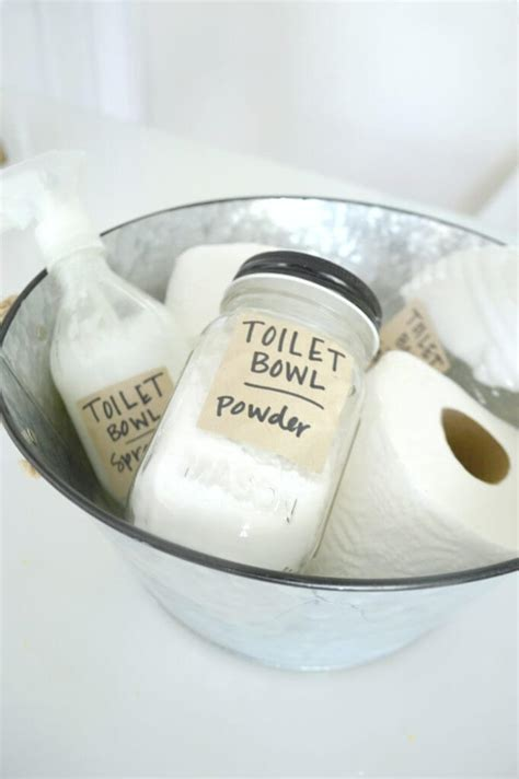 Nature Clean Toilet Bowl Cleaner 3 toilet bowl cleaner recipes rubies and radishes