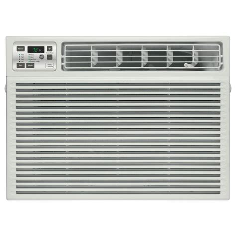 best room ac ge 115 volt electronic heat cool room window air conditioner aee08at the home depot