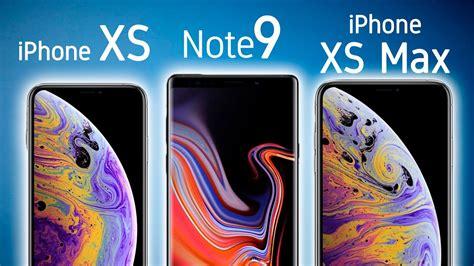 iphone xs max vs note 9 vs xs 161 caracter 205 sticas