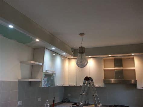 controsoffitti in cucina cartongesso faretti led per cucina edile cartongesso