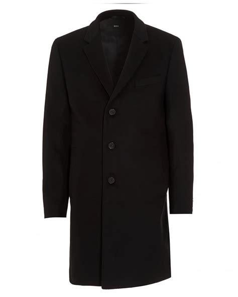 new year wool jacket hugo black mens nye new wool blend black crombie coat