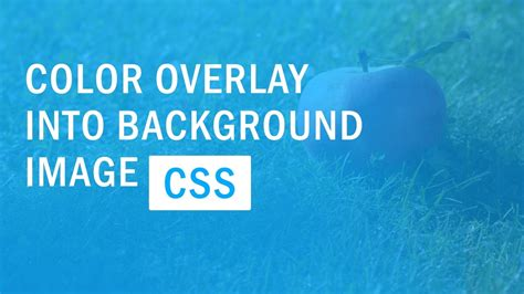 css background image color overlay color filter quick