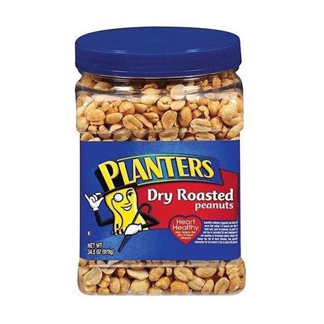 Are Planters Roasted Peanuts Healthy by Planters Roasted Peanuts 35 Oz Plastic Tub