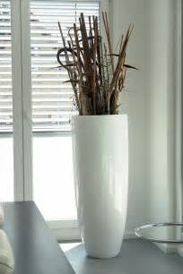 Vase Floor Designer Polyresin Vase 124cm In Grau F 252 R Innen Amp Au 223 En Ebay