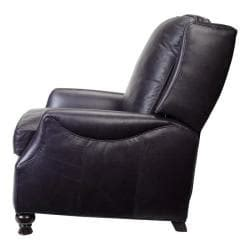 navy blue leather recliner chair charles navy blue leather recliner club chair free