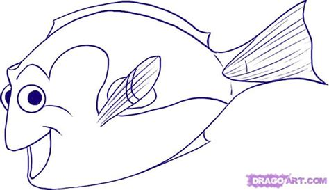 dory fish coloring pages finding dory coloring sheets free colorings net