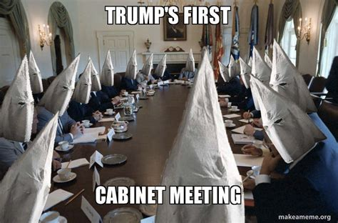 trump s first cabinet meeting the great american disconnect political comments donald