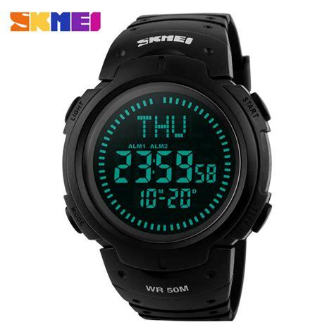 Jam Tangan Pria Sport Skmei 1029 Original Anti Air 50m Bt jual skmei compass 1231 original jam tangan pria sport outdoor anti air skmei