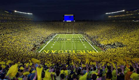 michigan big house your favorite michigan stadium photo mgoblog