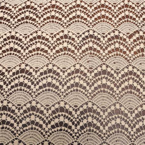 fabric pattern wholesale tan cotton bold lace fabric by the yard cotton lace pattern