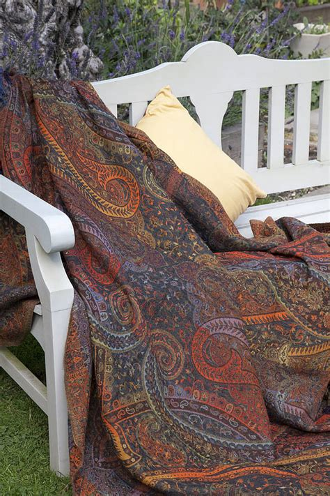 indian sofa throws jamawar wool sofa throws by indian garden company