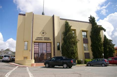 Amador County Court Records Amador County Us Courthouses