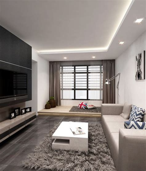 Platform Living Room by Tv Feature Wall Storage And Platform On