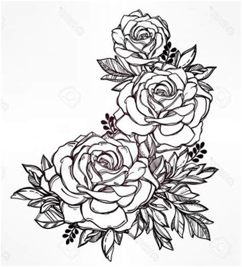imagenes de flores hermosas para imprimir dibujos para colorear de rosas bonitas tatto pinterest