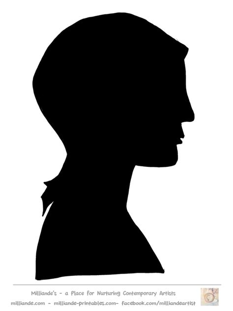 silhouette templates silhouette template silhouette collection