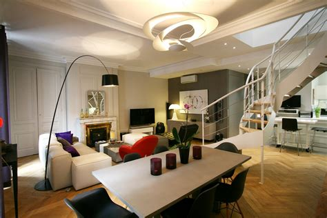 Garage Interior Design Ideas r 233 novation appartement bourgeois en duplex lyon 6