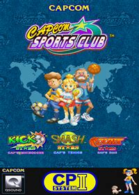 capcom sports club details launchbox games