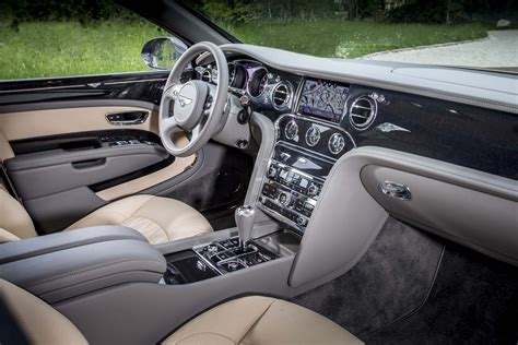 mulsanne bentley interior first drive 2017 bentley mulsanne