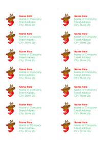 6 best images of printable christmas labels on avery