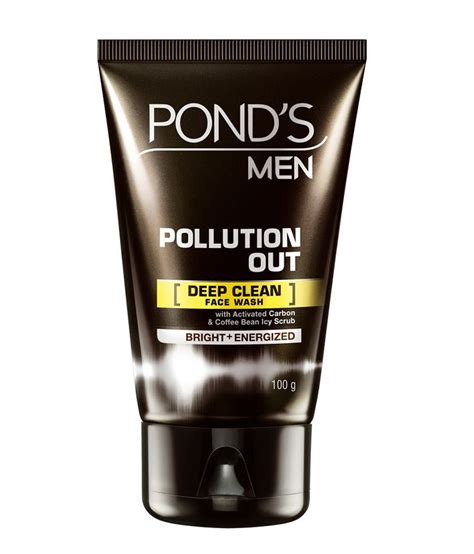 Ponds All In One Pollution Out Foam 10gr Promo ponds menz pollution out clean facewash 100 gms buy ponds menz pollution out clean