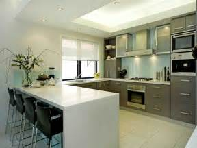 U Shaped Kitchen Designs by U Shaped Kitchen With Breakfast Bar Images