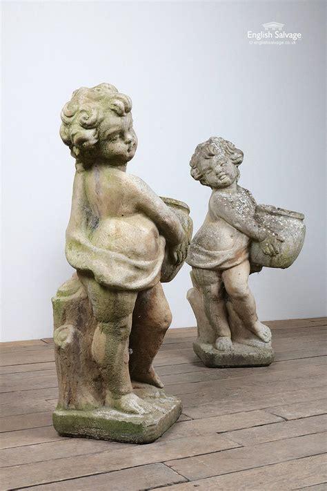 cherub putto garden statues planters