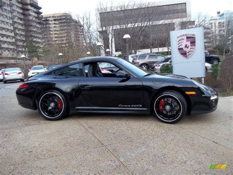 porsche 911 gts black black 2012 porsche 911 4 gts coupe exterior photo