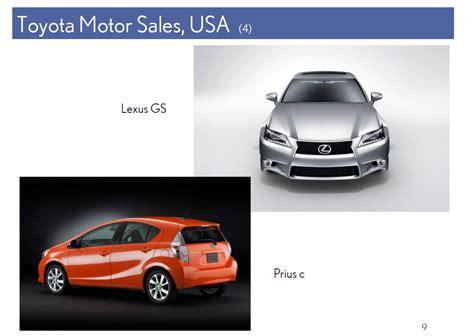 toyota motors usa toyota motor sales usa 4 lexus gsprius c9