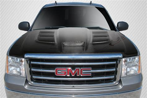 extreme dimensions inventory item   gmc sierra carbon creations viper