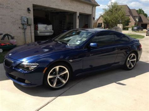 buy used 650i low blue coupe 100000 mile bmw