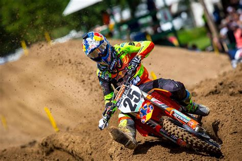 ama pro motocross results marvin musquin dominates with a 1 1 victory at spring