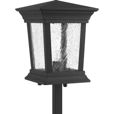 Progress Landscape Lighting Progress Lighting Low Voltage Arts And Crafts Collection Weathered Bronze Landscape Pathlight