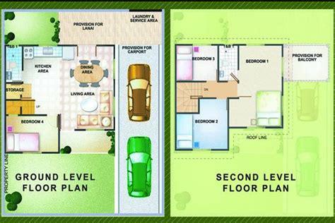 Simple House Floor Plan Parc Regency Iloilo Olive Model House