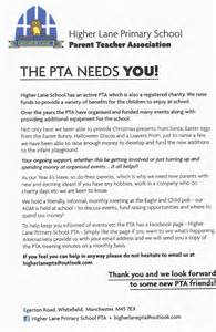 Thank You Letter To Parents From Pto Higher Lane Primary School Pta