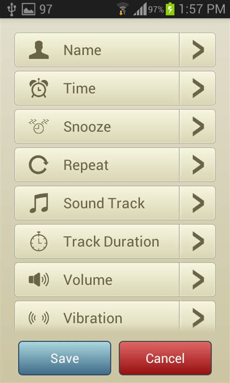 android alarm sounds sound alarm clock android app source code productivity app templates for android codester