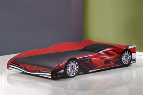 car cing bed racing car bed jenson 3ft single in red mattress choice free uk delivery ebay