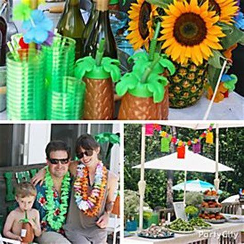 luau backyard party ideas easy ideas for a lei d back luau party city