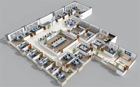layout kantor bank tata ruang kantor tertutup decodeko