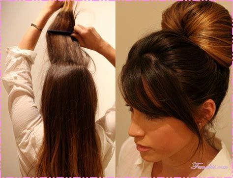 tutorial cara sanggul modern model sanggul pengantin newhairstylesformen2014 com