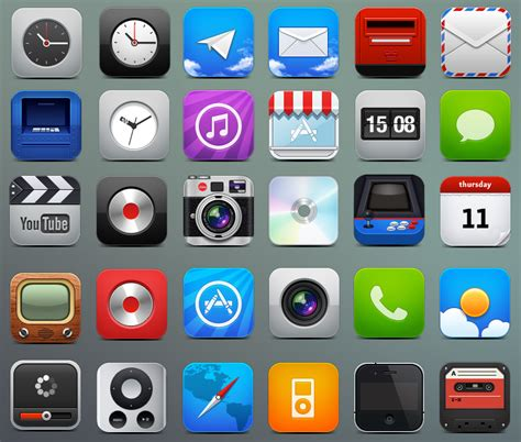 iphone icons 40 icon sets for your iphone free icons graphic design junction