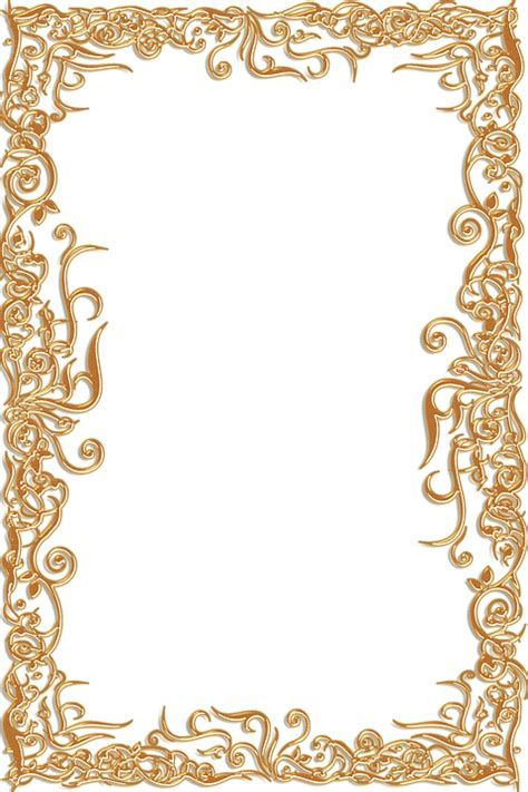 Bingkai Foto Frame Shabby free illustration frame ornate gold vintage free