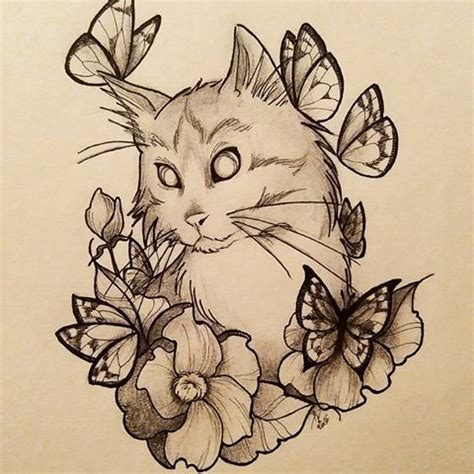 tattoo fixers cat to flower 2352 best images about tattoo flash on pinterest ouija