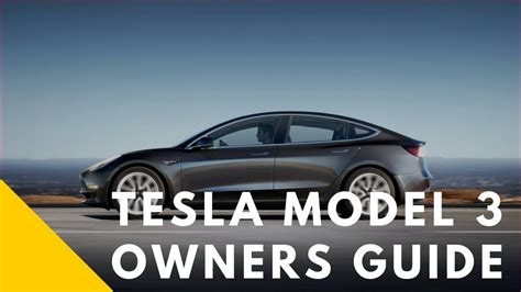 tesla model 3 manual wow tesla model 3 interior review with owners manual